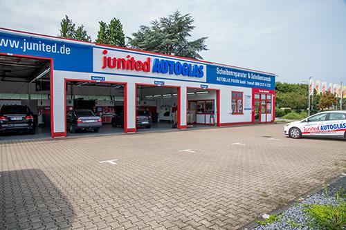 Junited-Autoglas-Werkstatt
