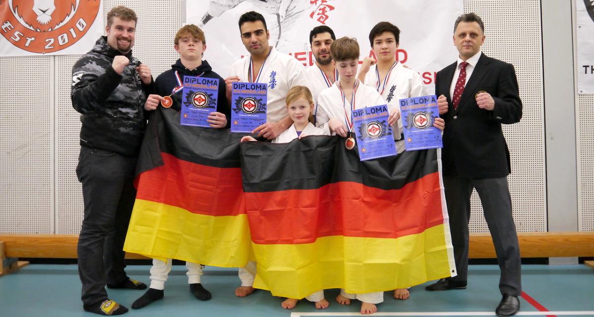 Dutch-Championship-Karate-Rheinland-Hilden-Siegerehrung