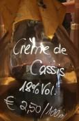 Creme de Cassis Likör