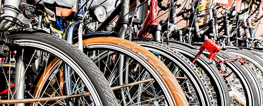 Das Sortiment bei Fahrrad Boecker