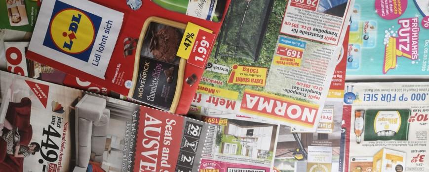 Umwelthilfe und Letzte Werbung e.V.: Stoppt ungewollte Werbepost!