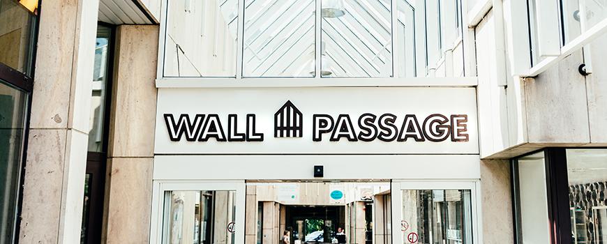 Hier findest du jedes Geschäft in der Ratinger Wallpassage.