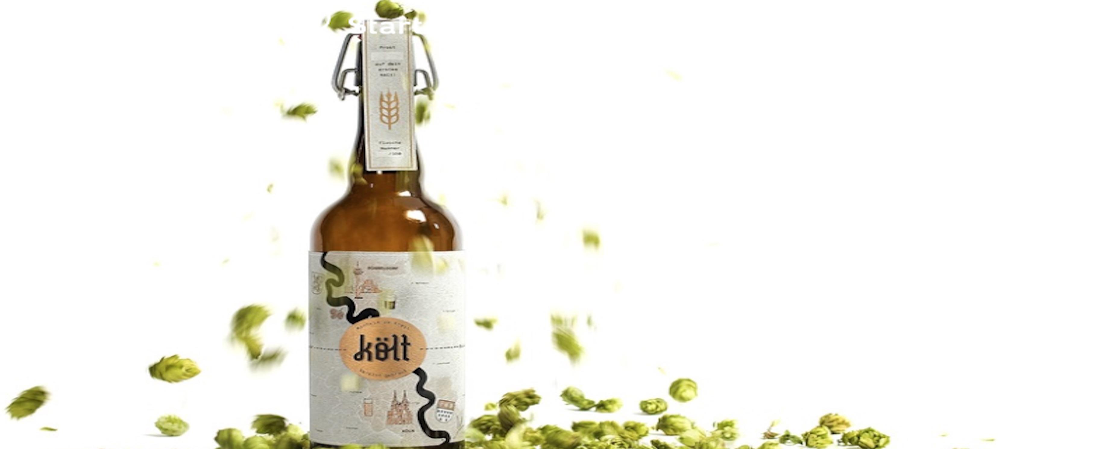 Was Düsseldorf und Köln trennt, bekommt man bald in Monheim zu schmecken: költ Bier