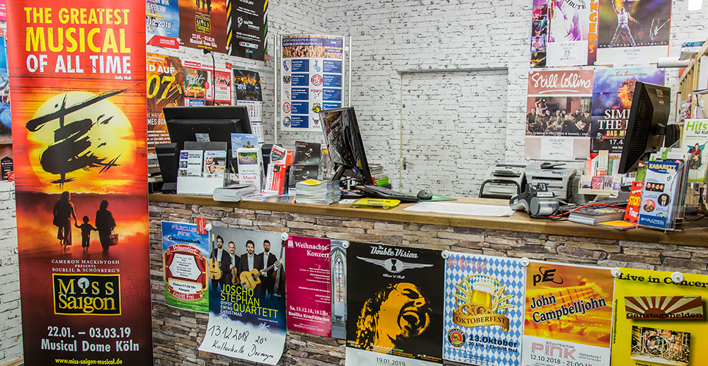 Ticketshop der City Buchhandlung