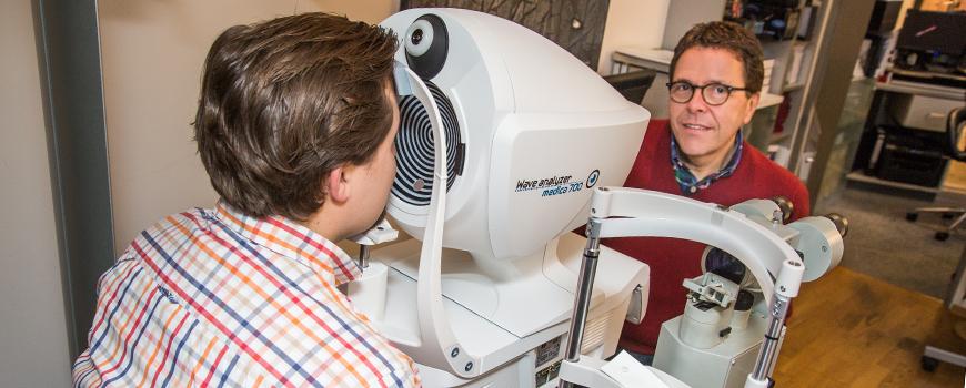 Optik Hanraths in Hilden: Früherkennung mit Wave Analyzer