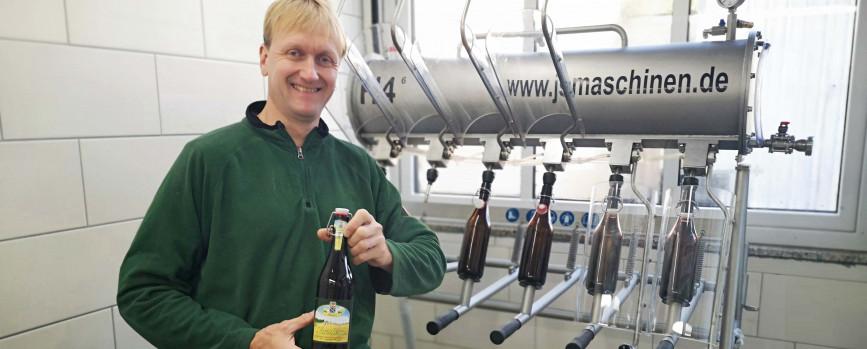 Bier bei Bauer Hanten: Endlich gibt's wieder Hildener Landbräu!