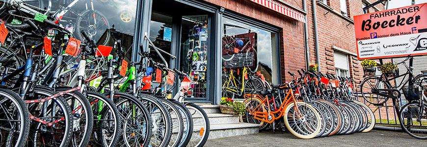 Außenansicht von Fahrrad Boecker in Dormagen