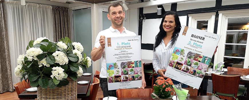 Landpartie im Fachwerk: Zwei Preise bei der tour de menu 2019