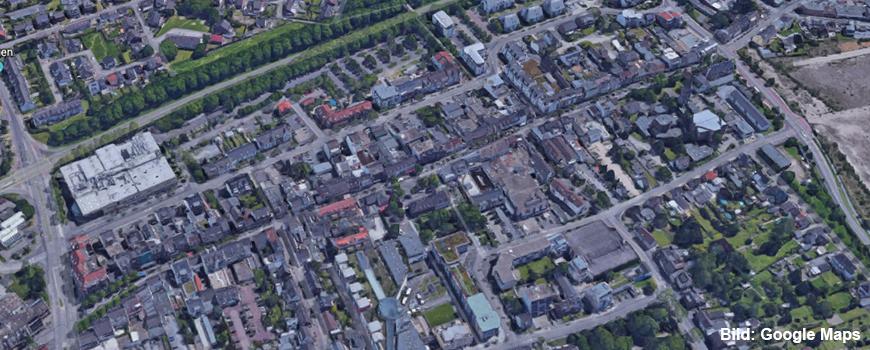 Einkaufen in Dormagen: Die Innenstadt (Kölner Straße) >