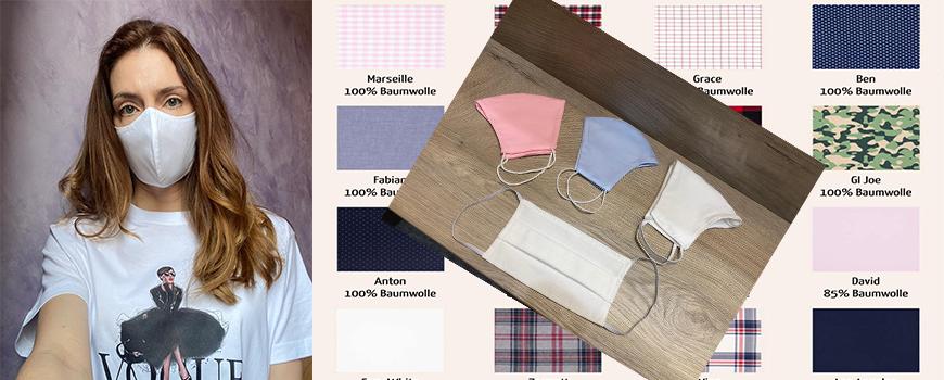 Boutique Grayss führt Designer Gesichtsmasken