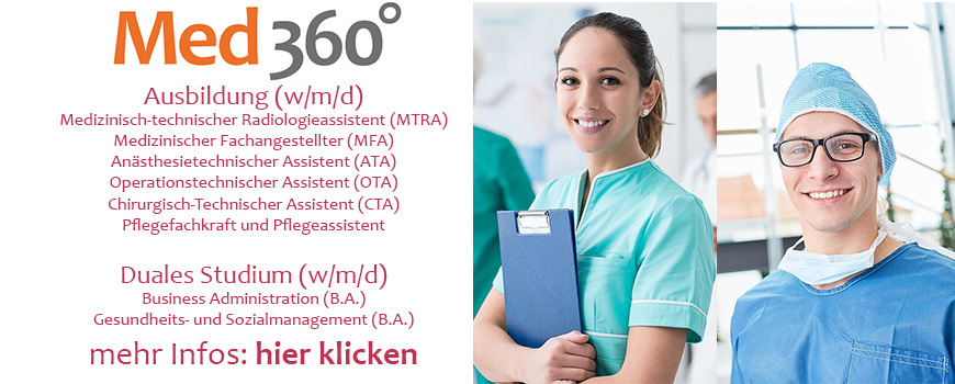 Ausbildung-Hilden-Med-360-Grad-Banner-Leverkusen