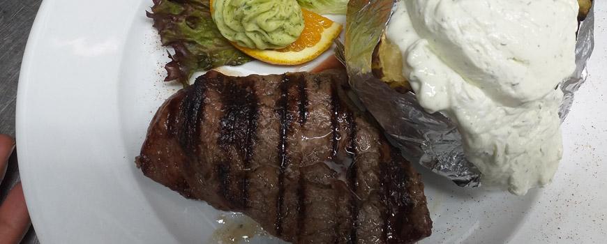 Steak essen in Hilden