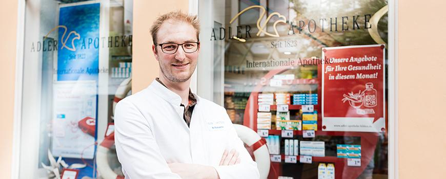 Adler Apotheke bietet Ernährungs-Check