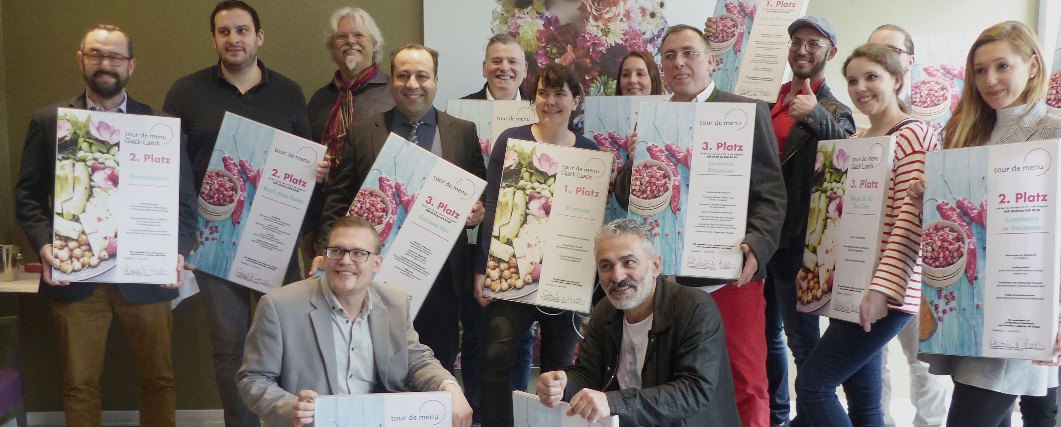 Restaurant Landpartie im Fachwerk gewinnt einen 2. Platz bei der tour de menü 2018