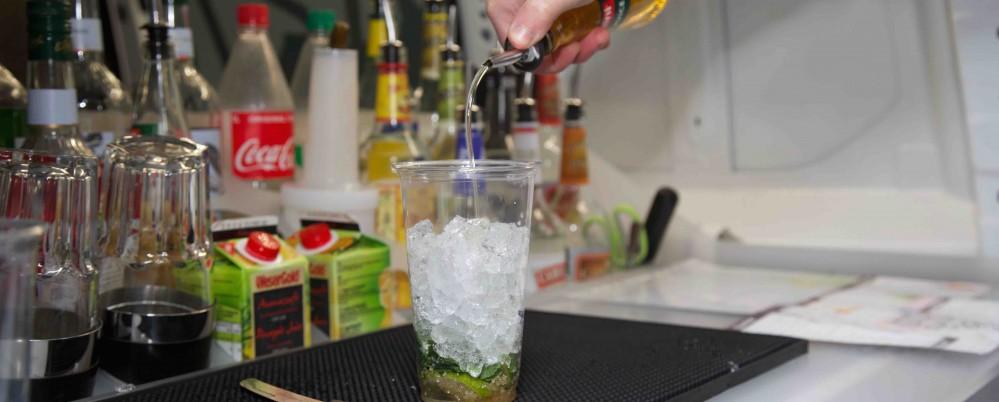 Knapp 60 Drinks mit oder ohne Alkohol haben die My Cocktail Taxis im Angebot