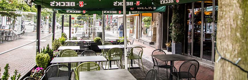 Das griechische Restaurant Jamas in Hilden mit Biergarten