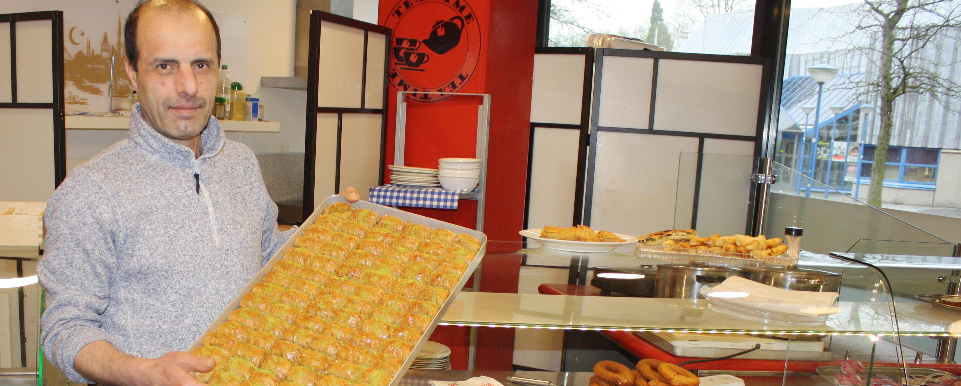 Öz Antep: Türkisches Restaurant mit bürgerlicher Küche